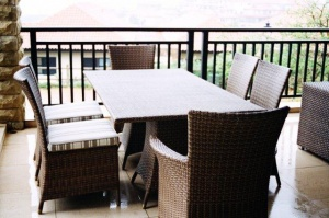 All weather outdoor Dining table.