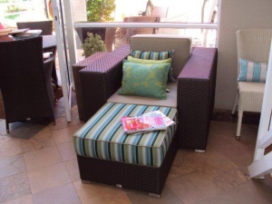 All weather outdoor bellavista armchair.