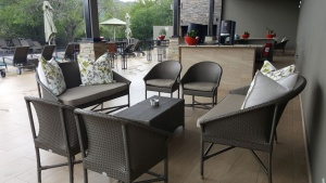 Modern design all weather limpopo sofas and chairs.
