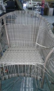 Uncomplete chair